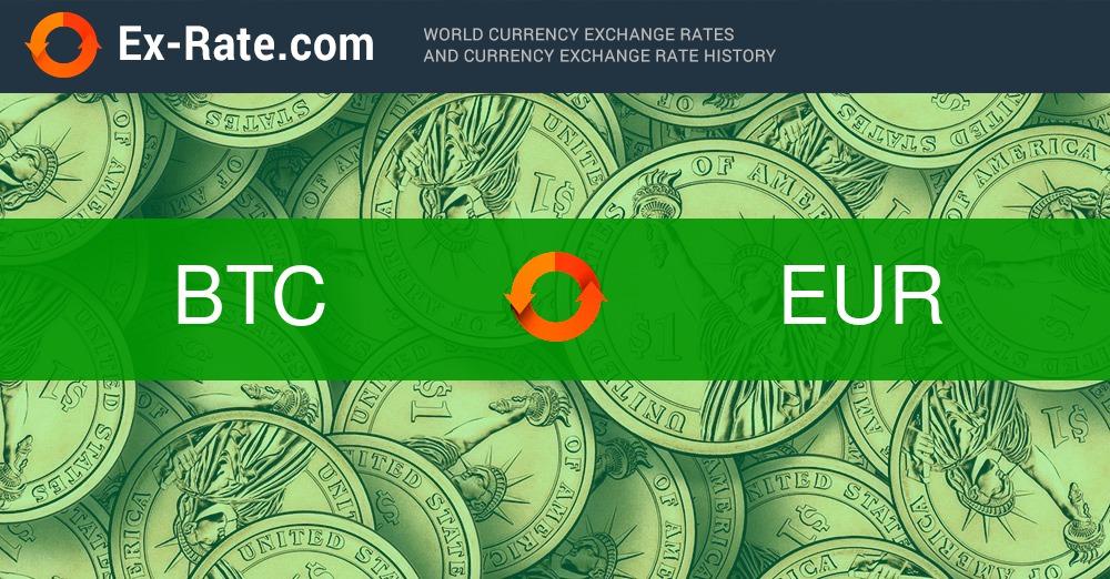 1 btc in euro