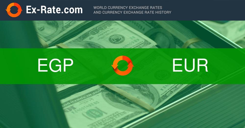 Cuánto es 80 libras EGP (EGP) a la tasa € (EUR) hoy en día?