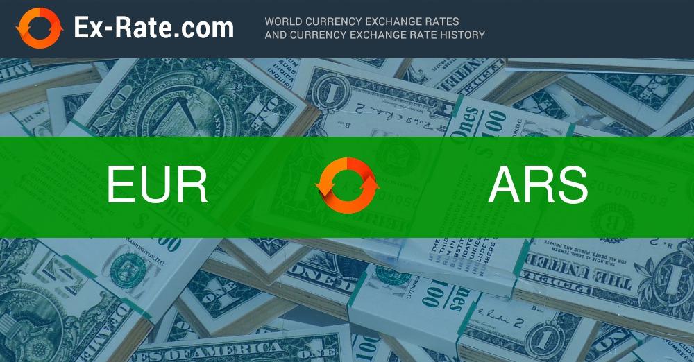 convertidor de pesos argentinos a euros